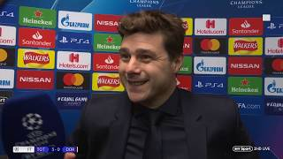 """""""We have so many good players, I can only pick 11!"""" Mauricio Pochettino after Spurs 3-0 Dortmund"""