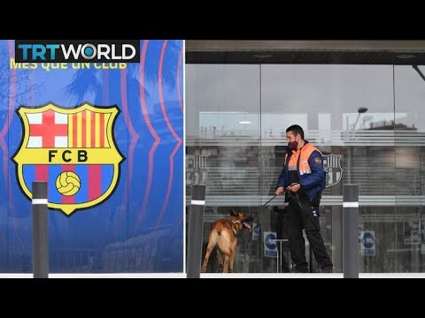 Police raid Barcelona football club's offices and stadium | Money Talks