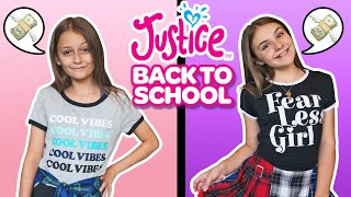 BACK TO SCHOOL No Budget SHOPPING Haul Challenge at Justice **BFF vs BFF**🛍| Piper Rockelle