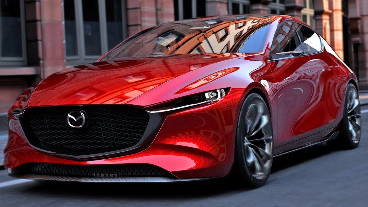 Best Looking Hatchback Car: The Mazda Kai Concept - YouTube