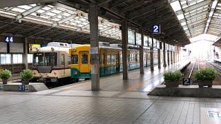 【地鉄】頭端式ホームの電鉄富山駅