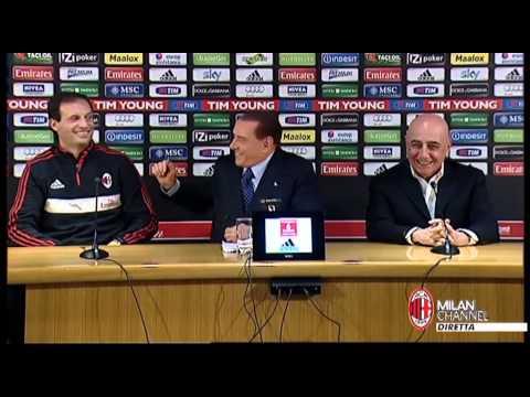 Berlusconi: 'Allegri e' richiesto? Rilanceremo'