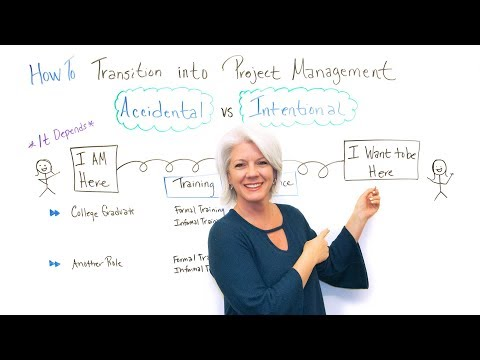How to Transition into Project Management - Project Management Training