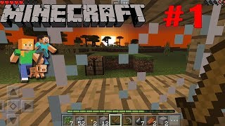 Minecraft From zero to ... :) Part 1 (by Mojang) / Android Gameplay HD