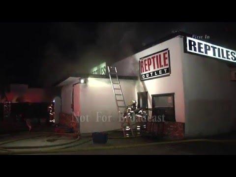 Stanton Ca. Pet Store Fire 12/16/15