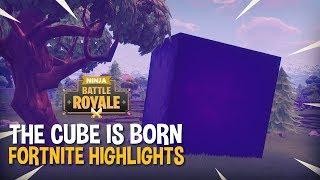 The CUBE Is Born!! - Fortnite Battle Royale Highlights - Ninja