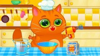 КОТЕНОК БУБУ #59 КАКАШКИ смешное видео для детей веселая игра про виртуальный питомец #ПУРУМЧАТА