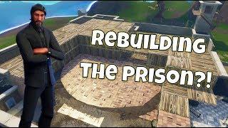 REBUILDING THE PRISON IN FORTNITE | Fortnite Building Challenge