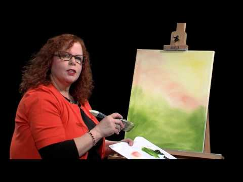 Lucy's Big Beautiful World of Painting, One Stroke Inspired Flowers