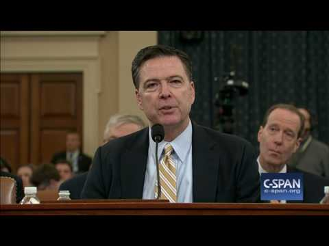 FBI Director James Comey Full Opening Statement (C-SPAN)