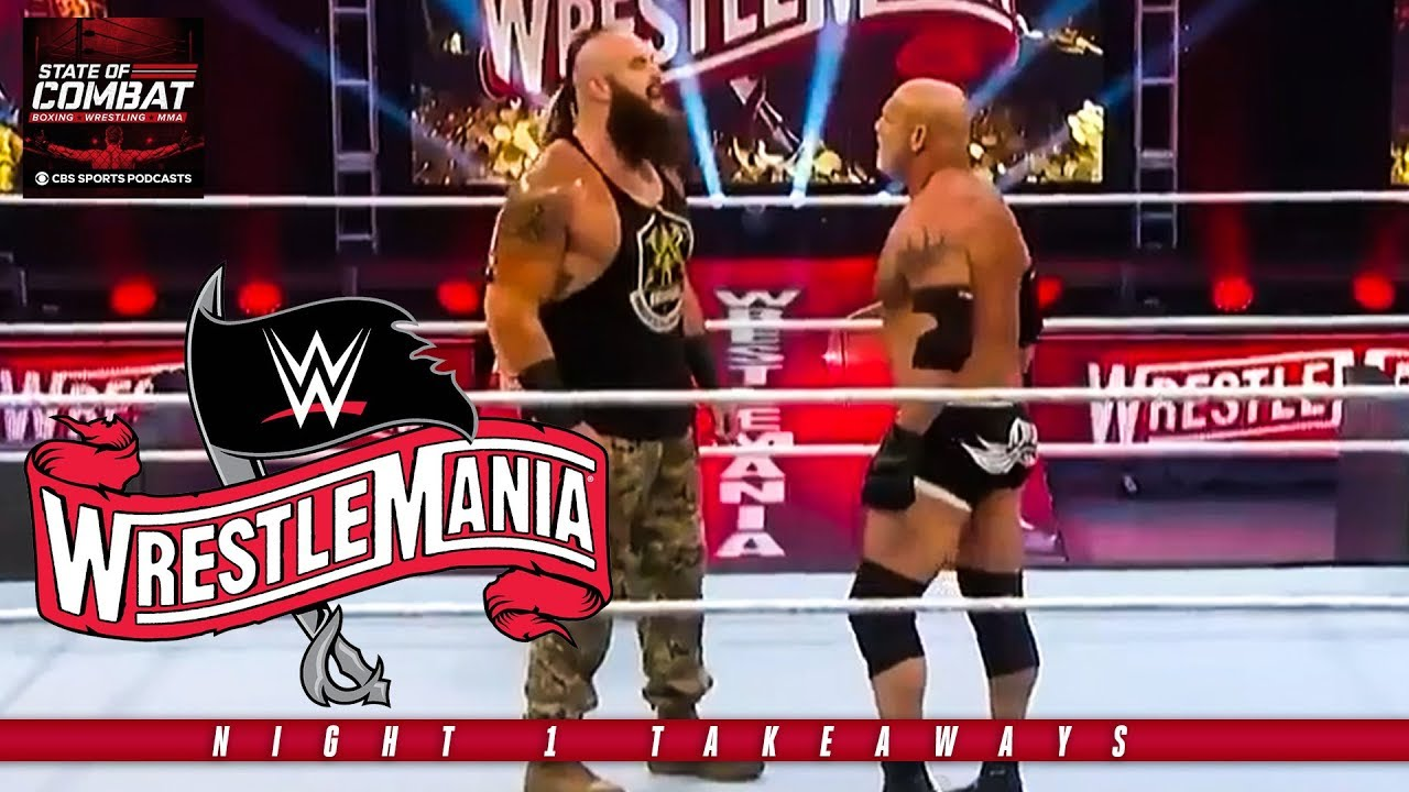 WWE WrestleMania 36: Takeaways from night 1   CBS Sports HQ