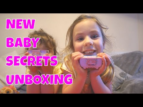 New Baby Secrets Collectable Toys Unboxing