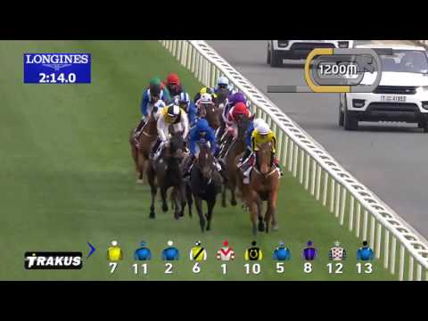 His Highness Agakhan's  Horse Vazirabad Wins Dubai Gold Cup