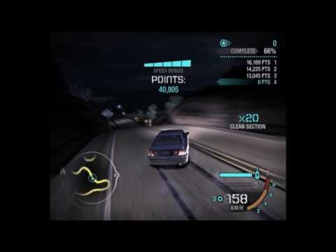 Need for Speed Carbon Drift - Initial D Forever Young [EUROBEAT]