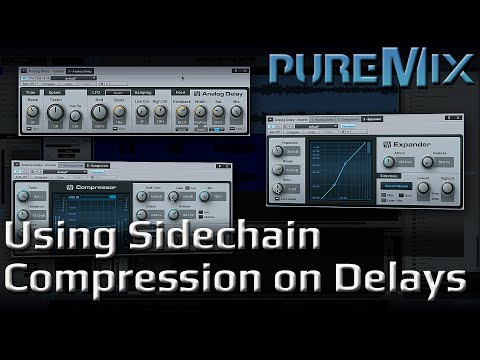 How to Use Sidechain Compression on Delays