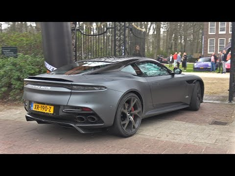 2019 Aston Martin DBS Superleggera – Lovely Exhaust Sounds!