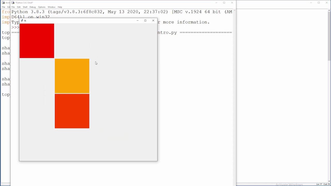 Python Tkinter - 6 - Canvas