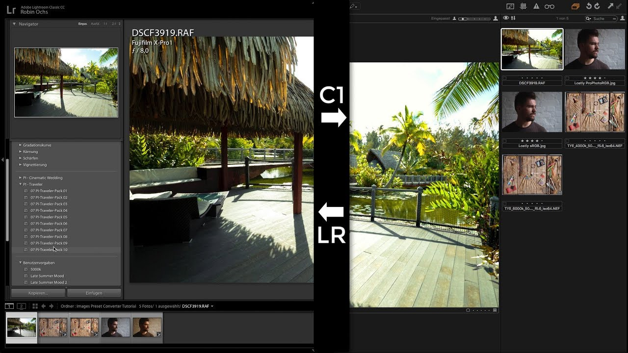 Convert Your Lightroom Presets Into Capture One Styles