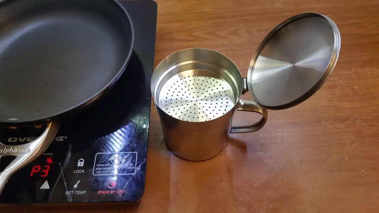 How to Store Bacon Fat Storage Container Bacon grease can with
