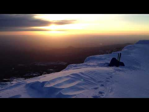 Summit Of South Sister 10,358 -- Skiing And Sleeping On The Summits
