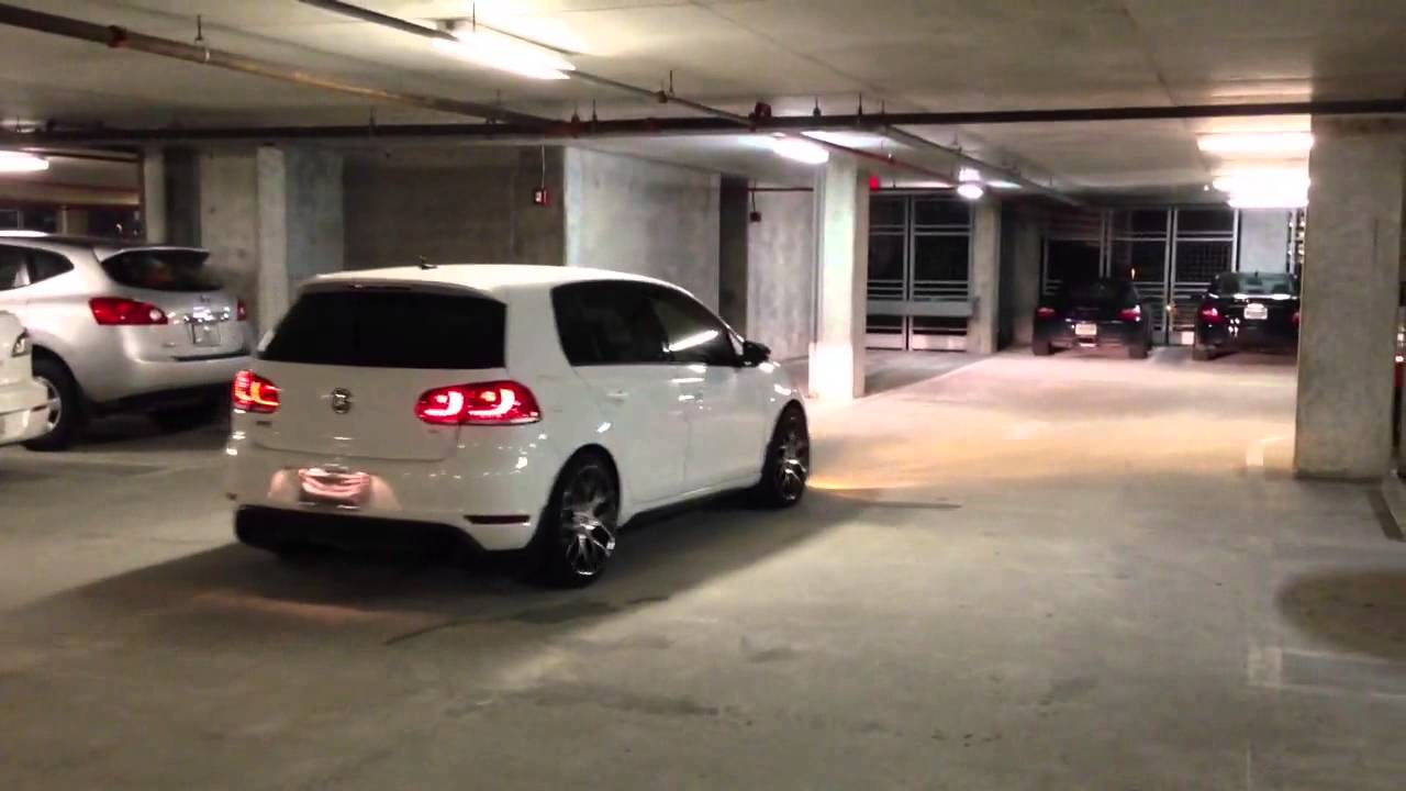 Mk6 Gti Led Tail Lights Youtube