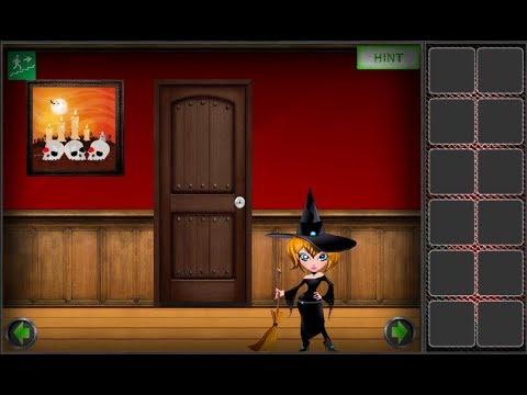 Amgel Halloween Room Escape 4 Walkthrough [AmgelEscape]