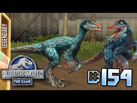Troodon Arrives! || Jurassic World - The Game - Ep 154 HD