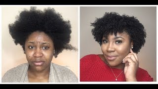 How   Styled My Natural Hair  ECO Styling Gel  5 different styles