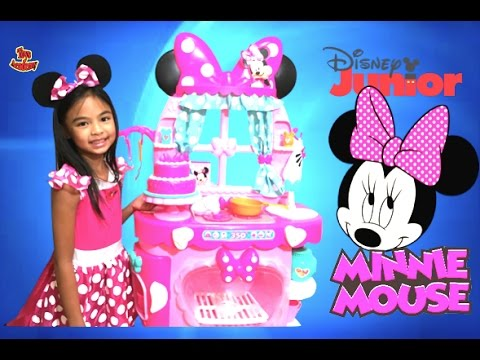 Minnie Mouse Sweet Surprises Kitchen By Disney Junior Unboxing | Toys Academy