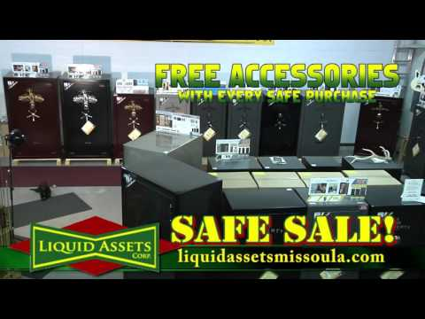 Liquid Assets Liberty Safe 2015TV 30