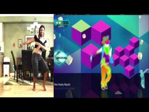 Just Dance 3 - Party Rock Anthem - First Look - Kinect