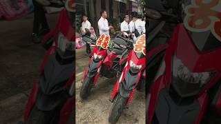 Đoàn Moto Ducati đi rước dâu
