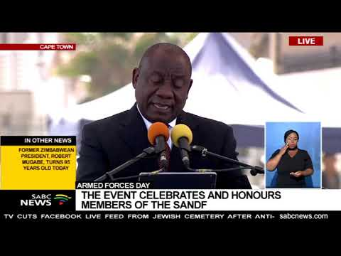 President Cyril Ramaphosa speech - Armed Forces Day 2019