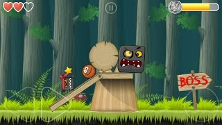 BASKETBALL plays Red Ball 4 chapter 2 with Boss in Deep Forest