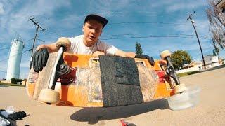 Fixing A Broken Skateboard With Fiberfix