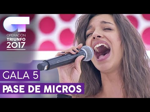 """LA BIKINA"" - Ana Guerra | Primer pase de micros para la Gala 5 | OT 2017"