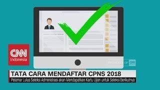 Download Video Tata Cara Mendaftar CPNS 2018 MP3 3GP MP4