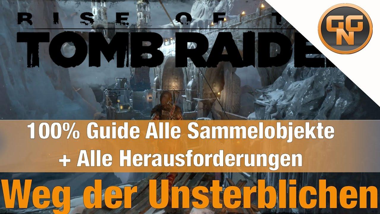 Rise Of The Tomb Raider Weg Der Unsterblichen Herausforderung