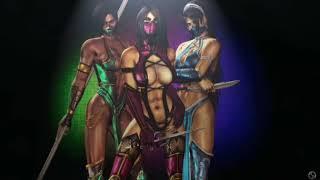 Mortal Kombat IX - Клип в медленной обработке