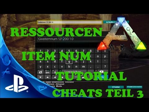 √ Ark Cheats Ps4 | Ark Survival Evolved PS4 Admin Command