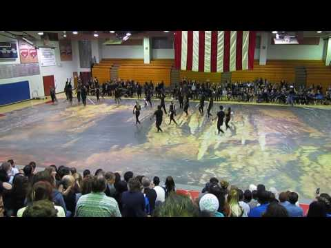 Coral Springs High School Varsity Winter Guard - Stoneman Douglas Friends and Family Night 2017