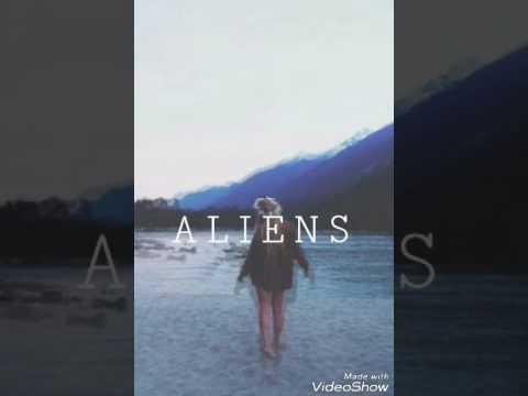 Coldplay - ALIENS  (letra en español )