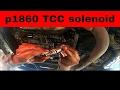 Como cambiar selenoides de transmision auto. chevy s10, blazer 4L60-E (p1860, p0785) tcc solenoid
