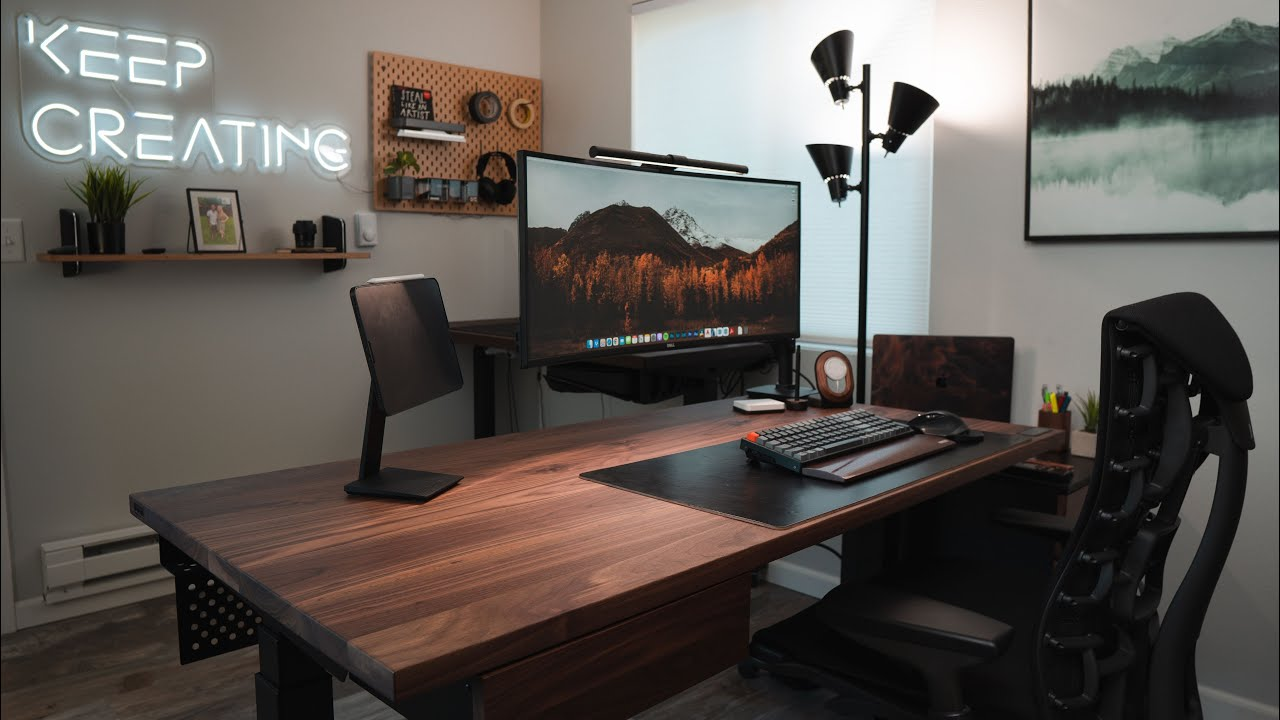 Home Office Makeover 2021 - Architect's Permanent Work From Home Setup