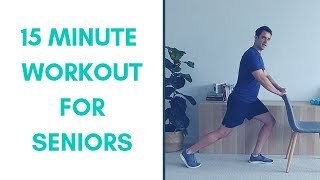 15-Minute Seniors Workout  Standing | Standing Workout For Seniors