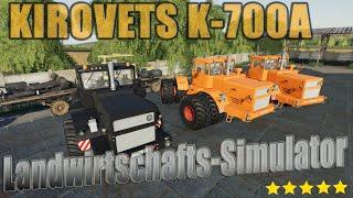 "[""Farming"", ""Simulator"", ""LS19"", ""Modvorstellung"", ""Landwirtschafts-Simulator"", ""KIROVETS K-700A V1.0.0.1"", ""KIROVETS"", ""K-700A"", ""KIROVETS K-700A"", ""LS19 Modvorstellung Landwirtschafts-Simulator : KIROVETS K-700A V1.0.0.1"", ""LS19 Modvorstellung Landwirts"