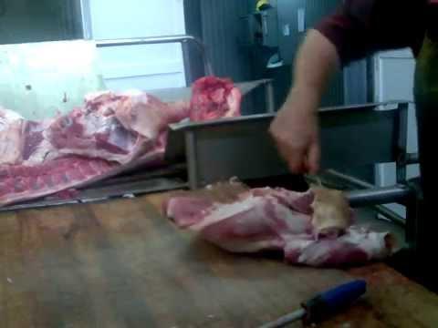 Сколько стоит обвалка свинины возрасту месяцах
