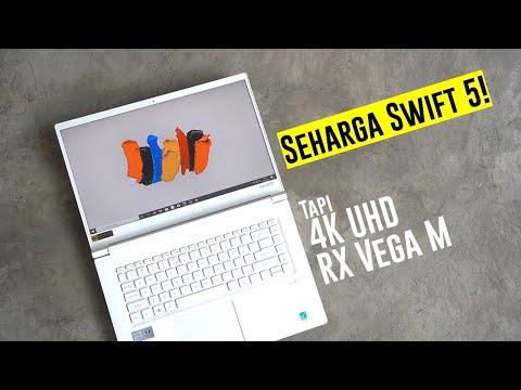 Laptop 4K UHD TerHEMAT! - Acer ConceptD 5 (Kaby Lake G)