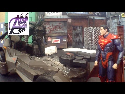 Batman v Superman[Stop Motion Film]- Batman vs Superman
