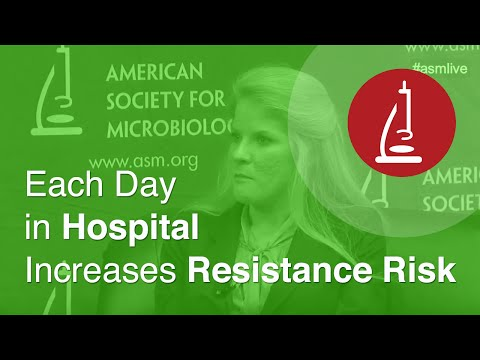 Each Day in Hospital Increases Resistance Risk - ICAAC 2014